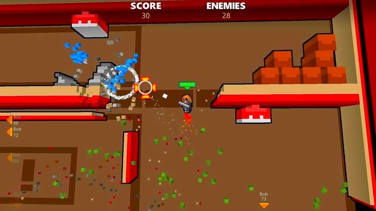Screenshot from Rocket Riot (8/8)