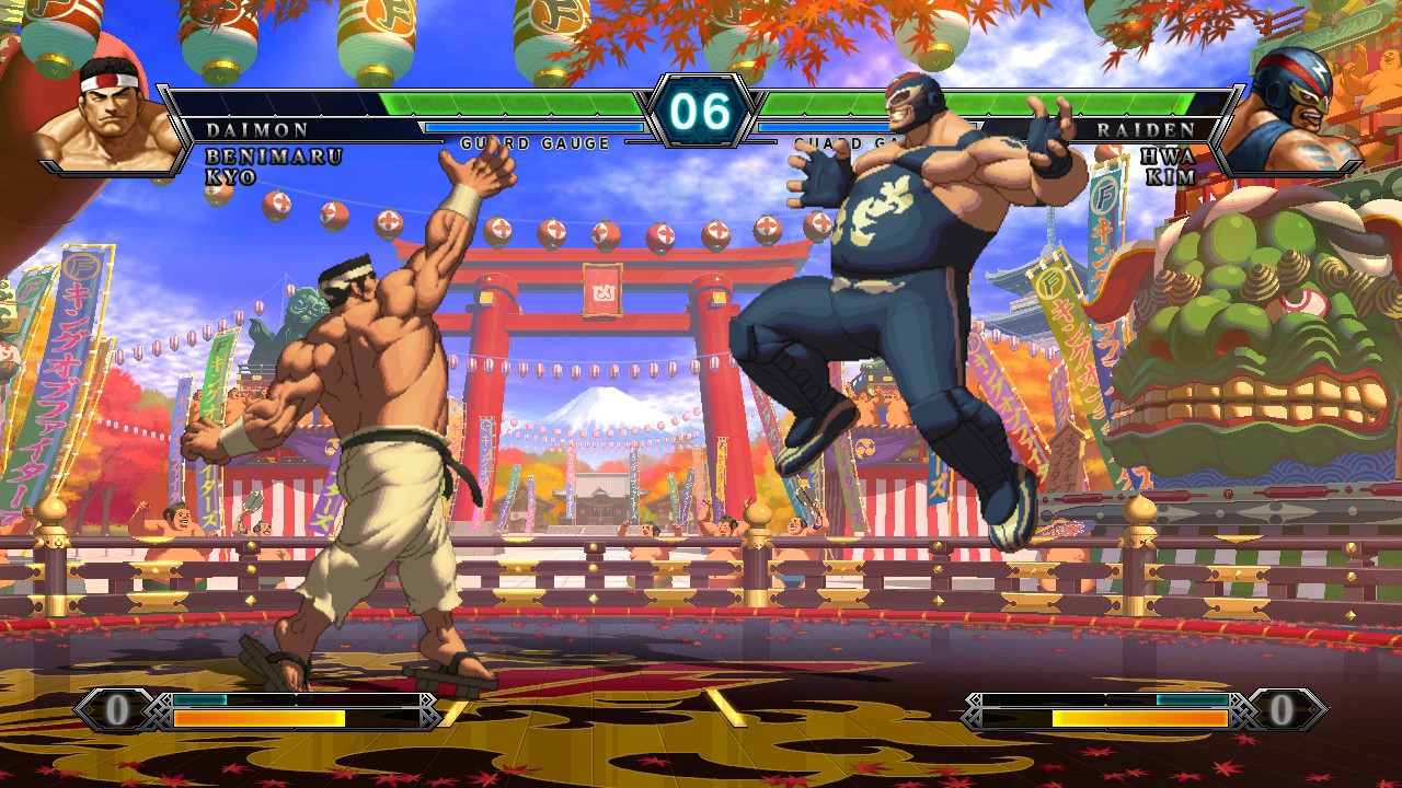 Screenshot from The King of Fighters XIII (4/10)