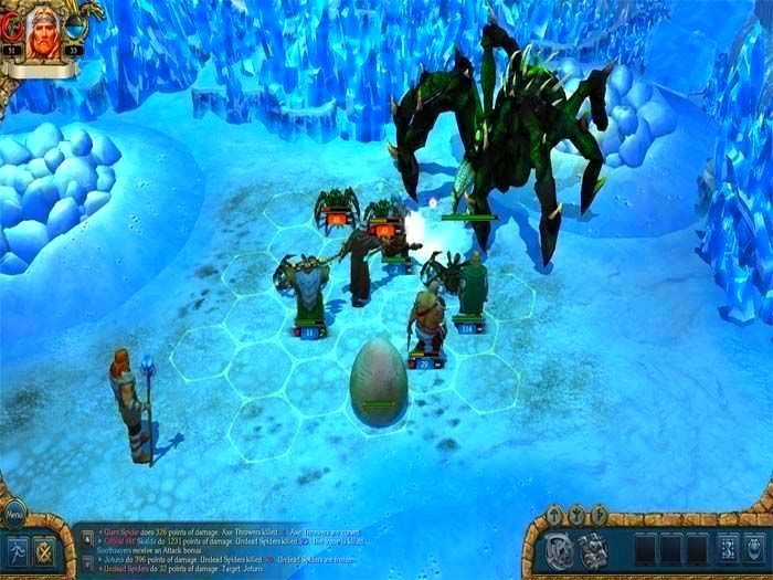 Screenshot from King's Bounty: Warriors of the North (5/5)