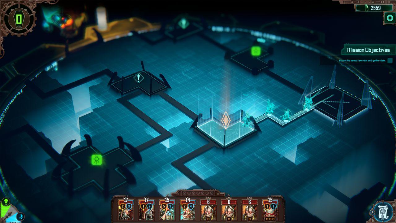 Screenshot from Warhammer 40,000: Mechanicus (1/9)