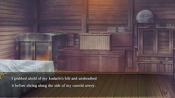 Screenshot from Hakuoki: Edo Blossoms (4/5)