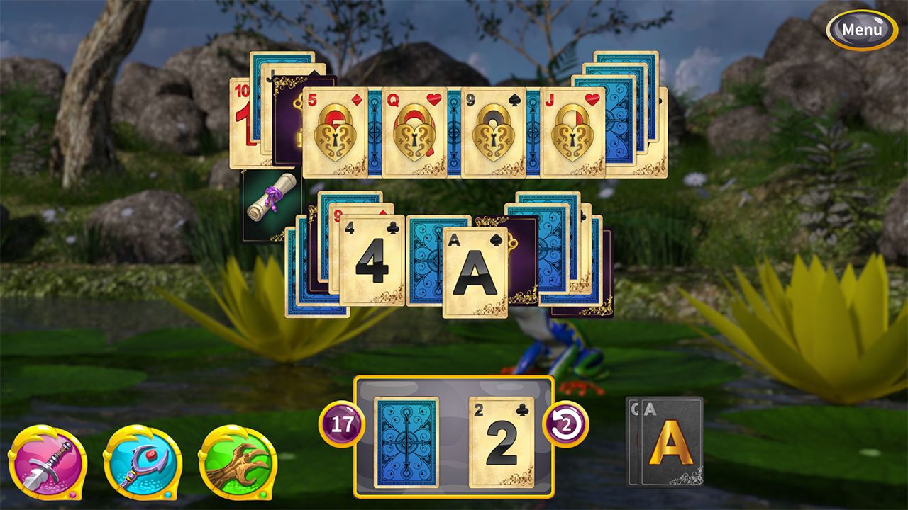 Screenshot from Princess Solitaire (4/5)