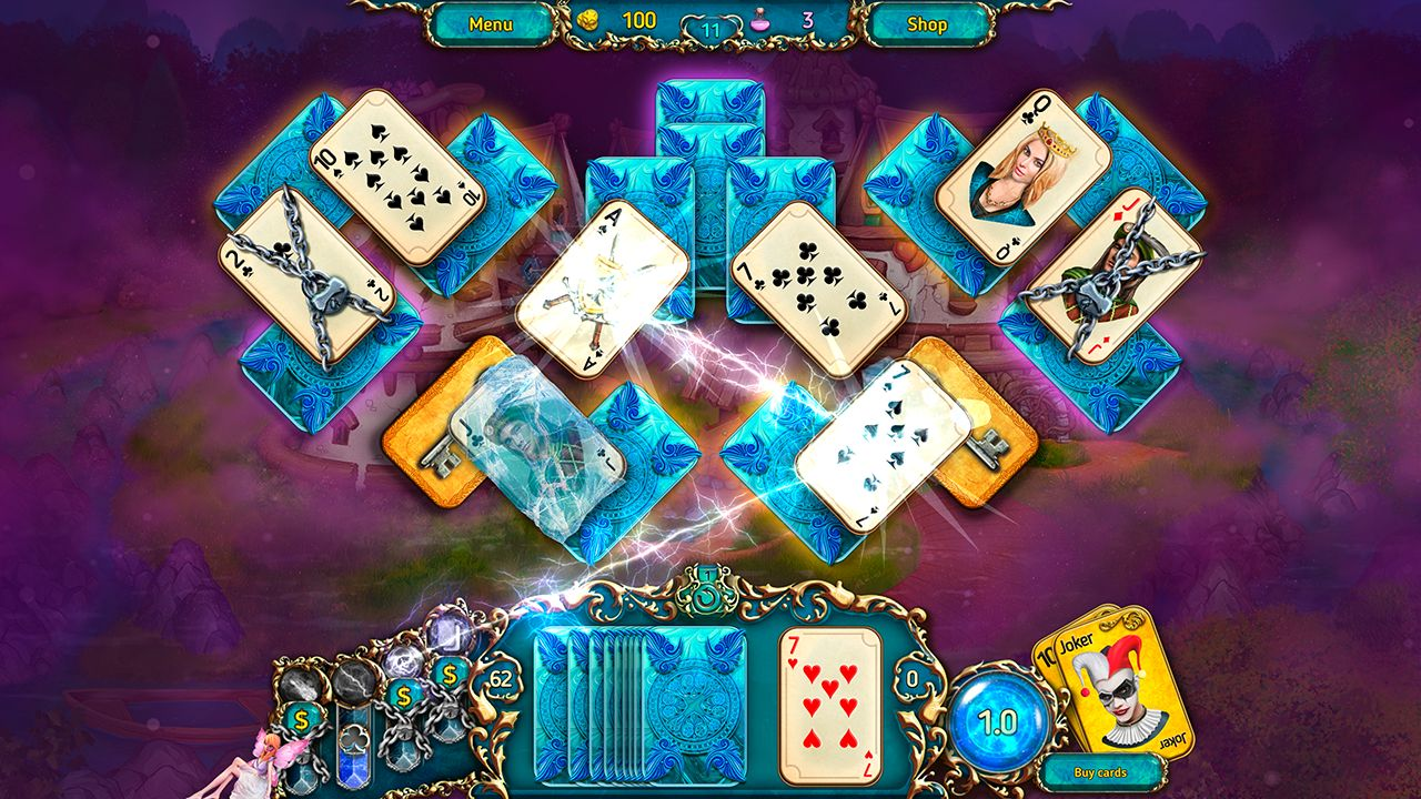 Screenshot from Dreamland Solitaire: Dark Prophecy Collector's Edition (7/8)