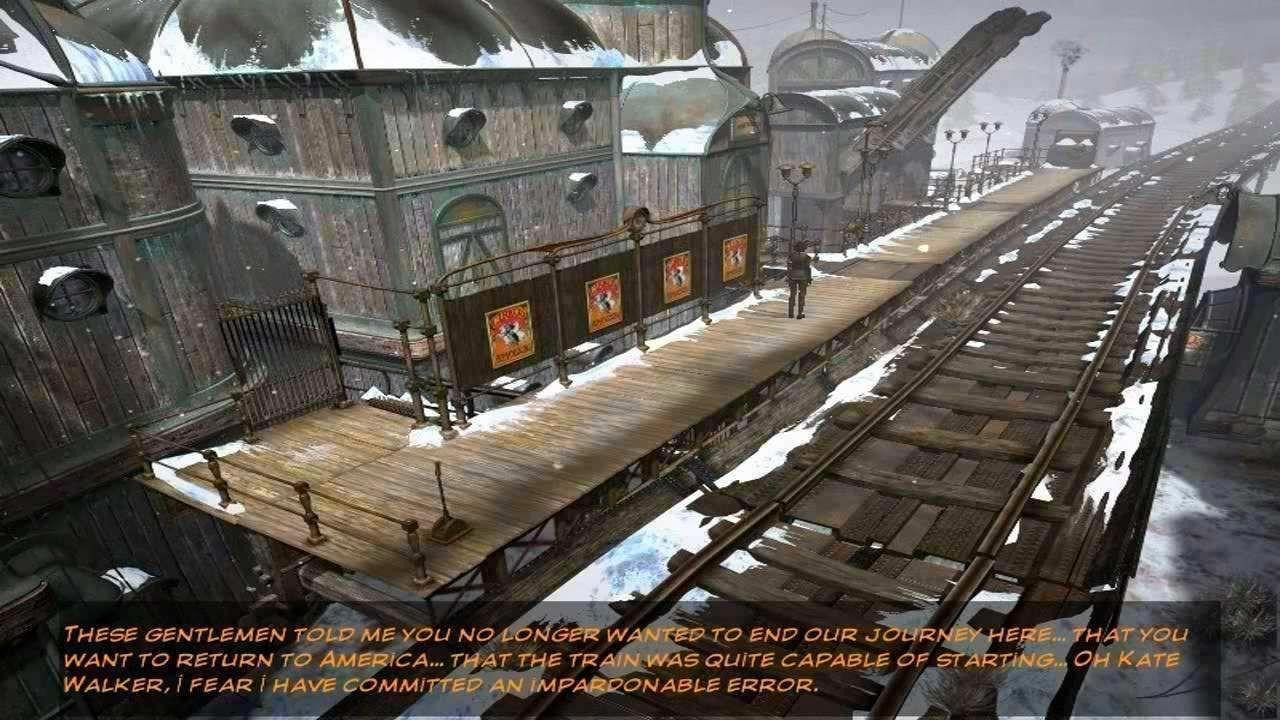 Screenshot from Syberia II (4/6)