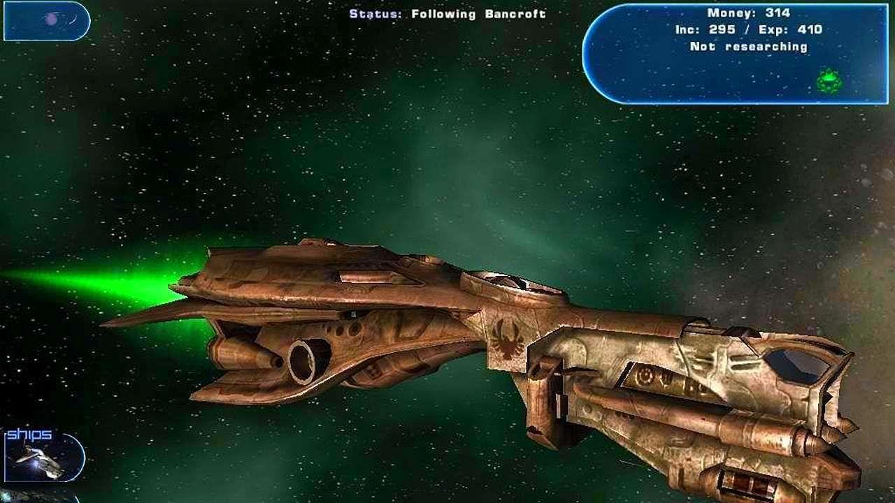 Screenshot from Haegemonia: The Solon Heritage (3/7)