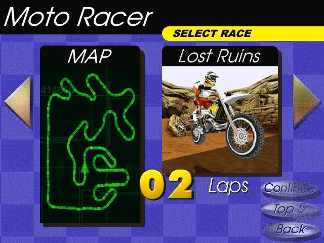 Screenshot from Moto Racer (4/8)