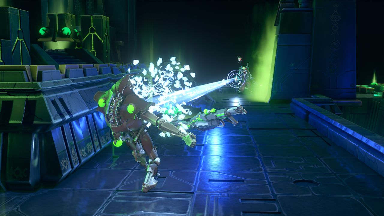 Screenshot from Warhammer 40,000: Mechanicus (8/9)