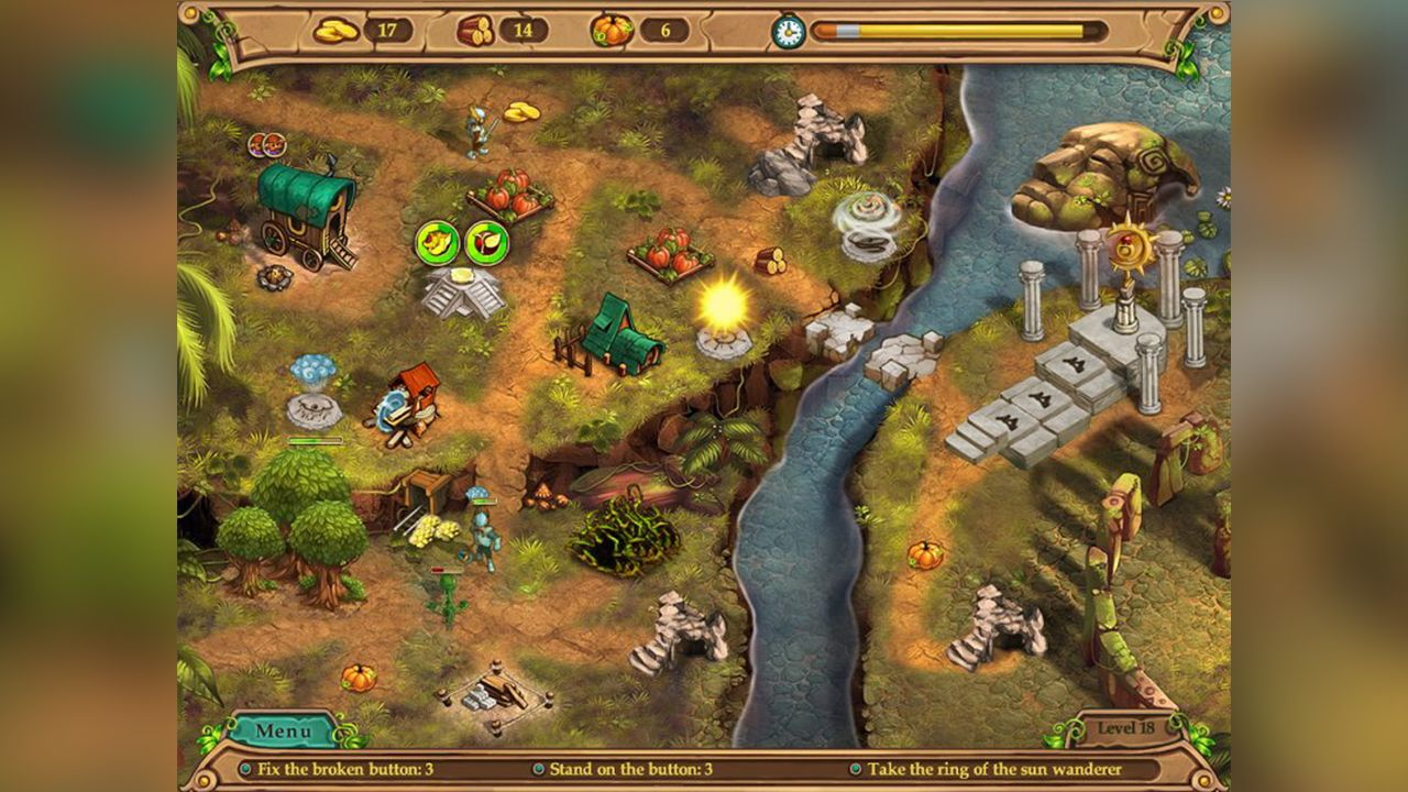 Screenshot from Weather Lord: In Pursuit of the Shaman (1/8)