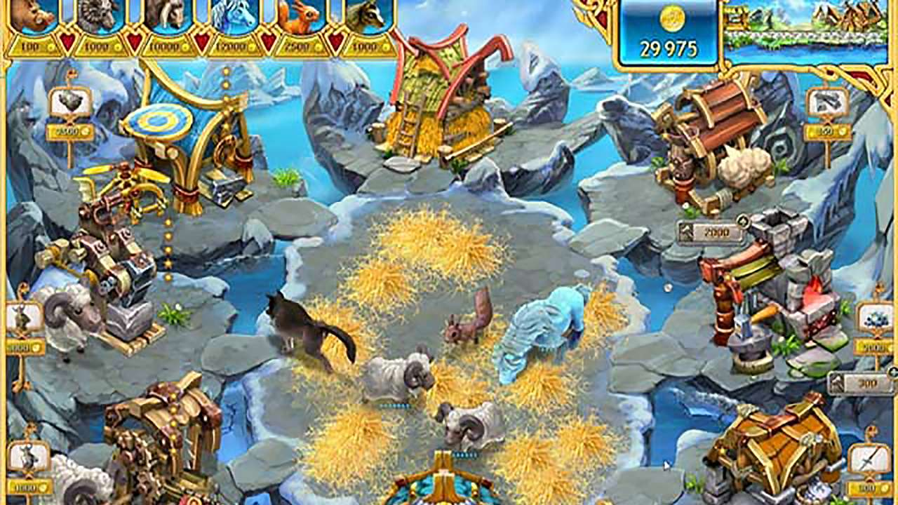 Screenshot from Farm Frenzy: Viking Heroes (1/9)