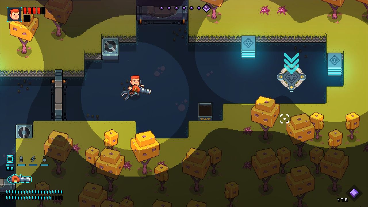Screenshot from Space Robinson: Hardcore Roguelike Action (5/6)