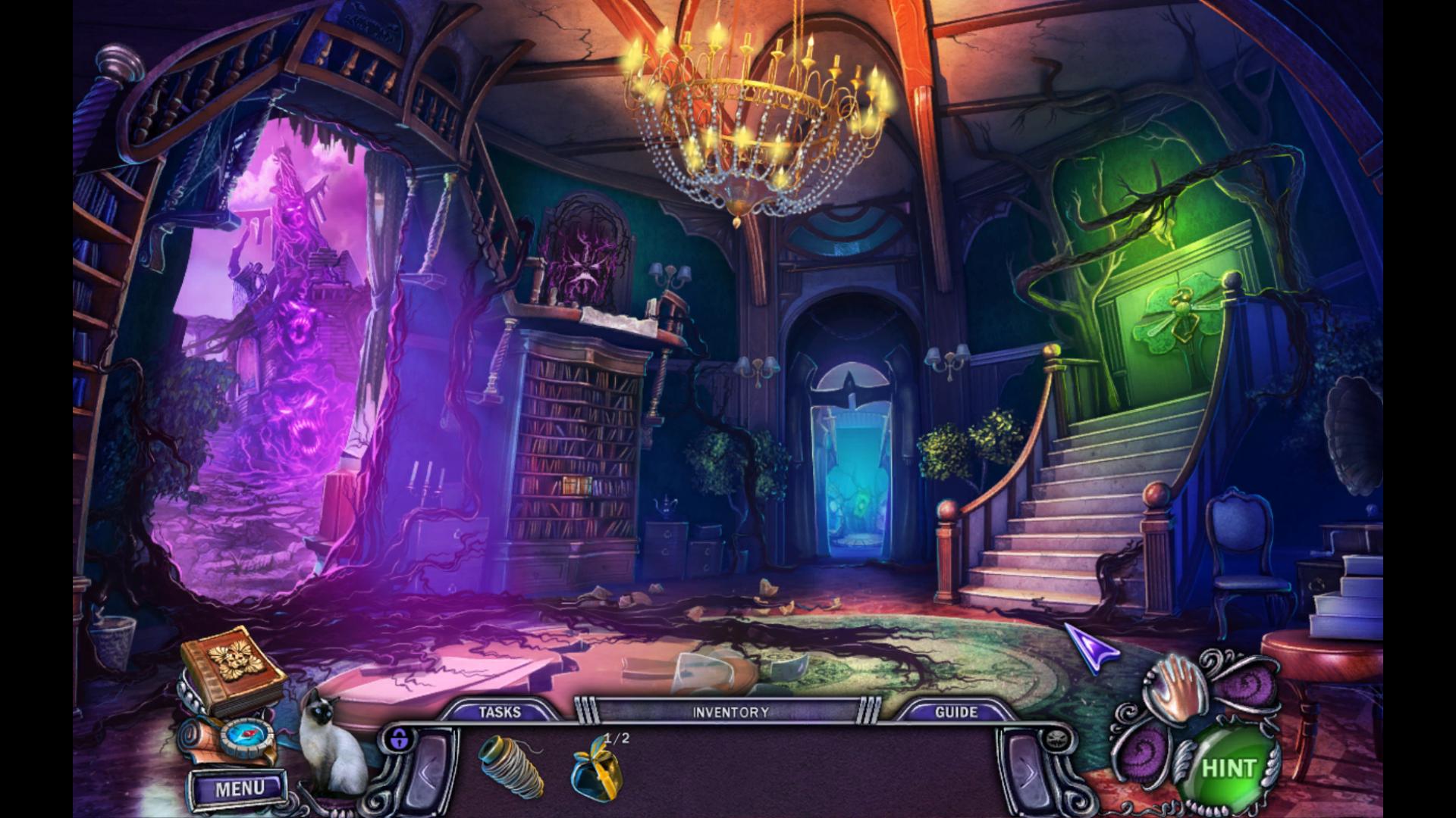 Screenshot from House of 1000 Doors: Evil Inside (9/9)