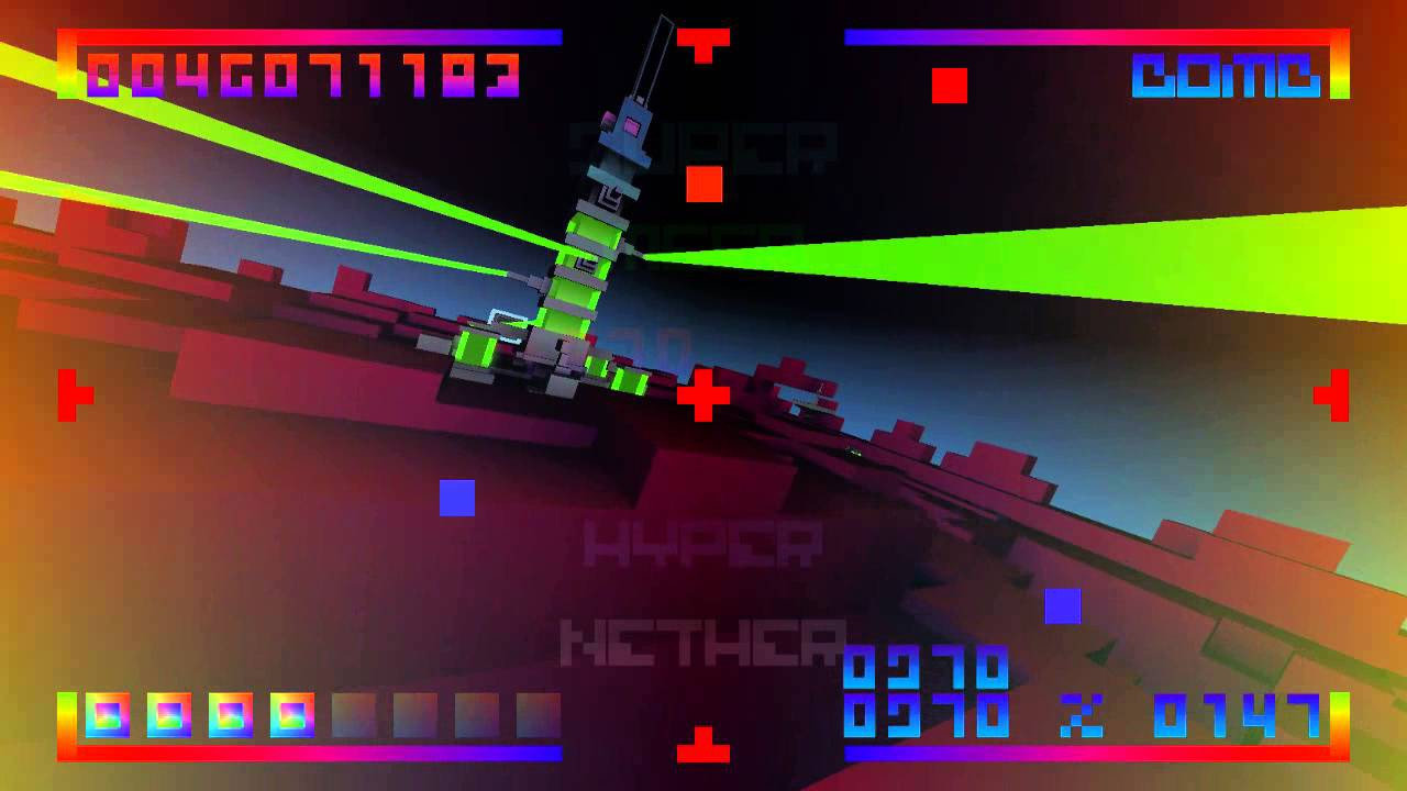 Screenshot from BIT.TRIP CORE (2/4)