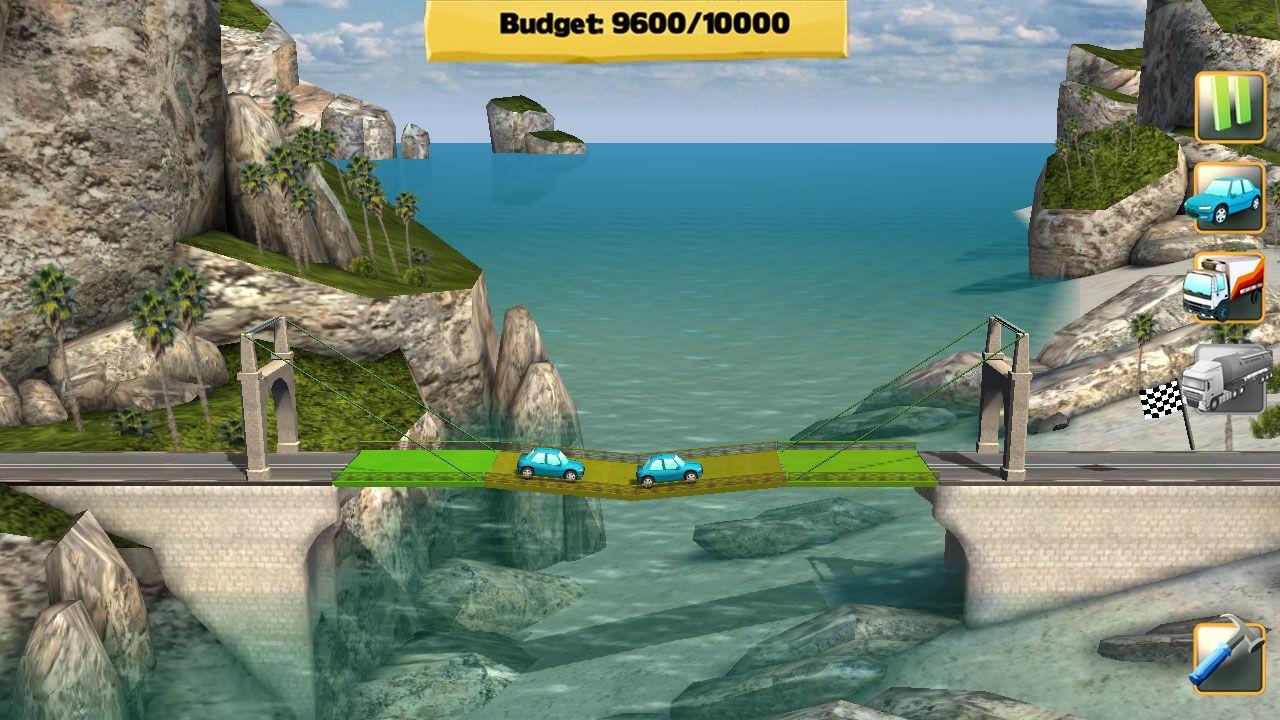 Screenshot from Bridge Constructor (7/7)