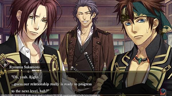 Screenshot from Hakuoki: Edo Blossoms (5/5)