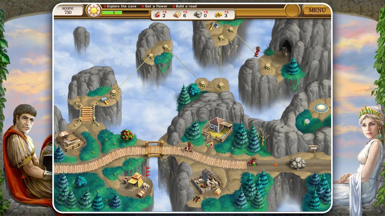 Screenshot from Roads of Rome 2 (3/6)