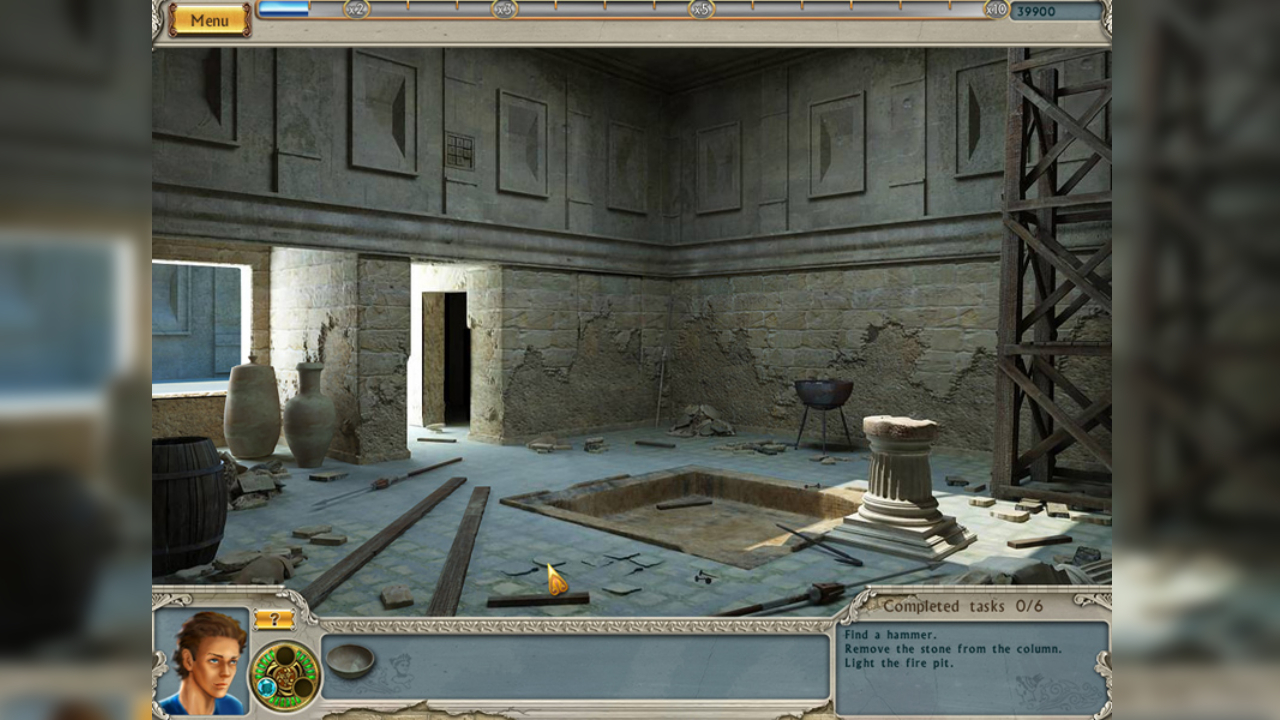 Screenshot from Alabama Smith: Escape from Pompeii (1/5)