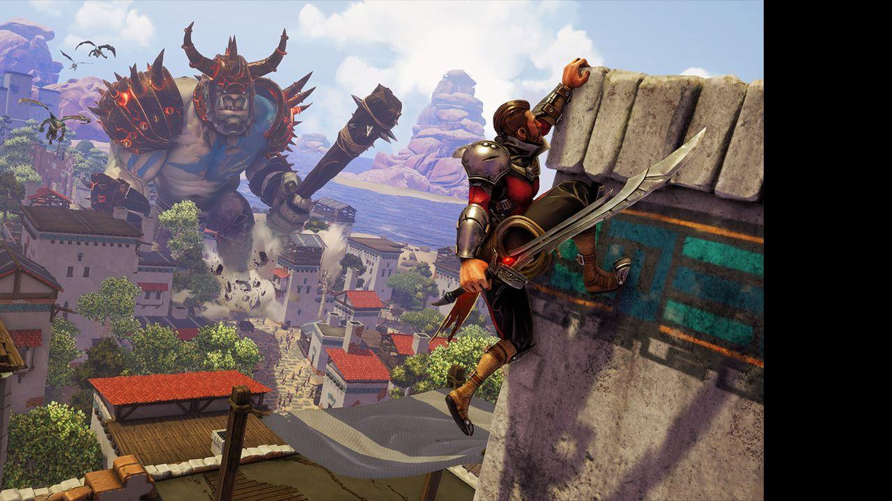 Screenshot from Extinction (2/5)