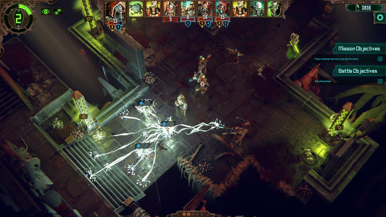 Screenshot from Warhammer 40,000: Mechanicus (9/9)