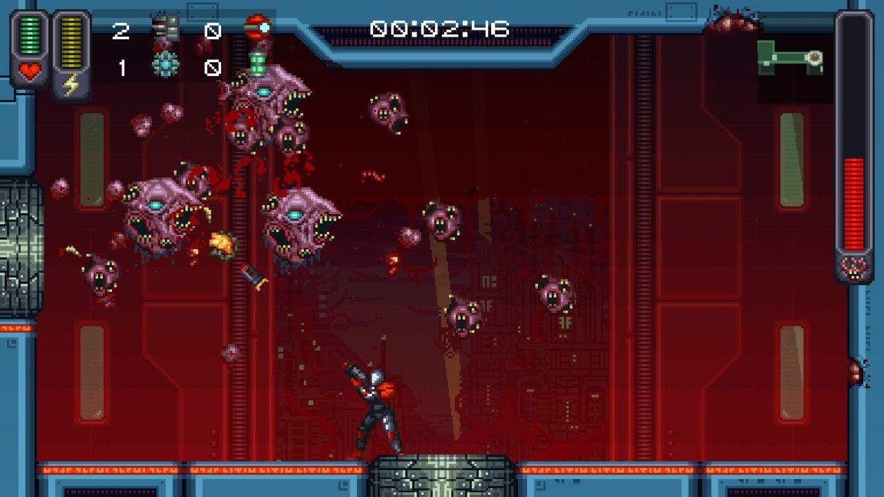 Screenshot from A Robot Named Fight! (8/10)
