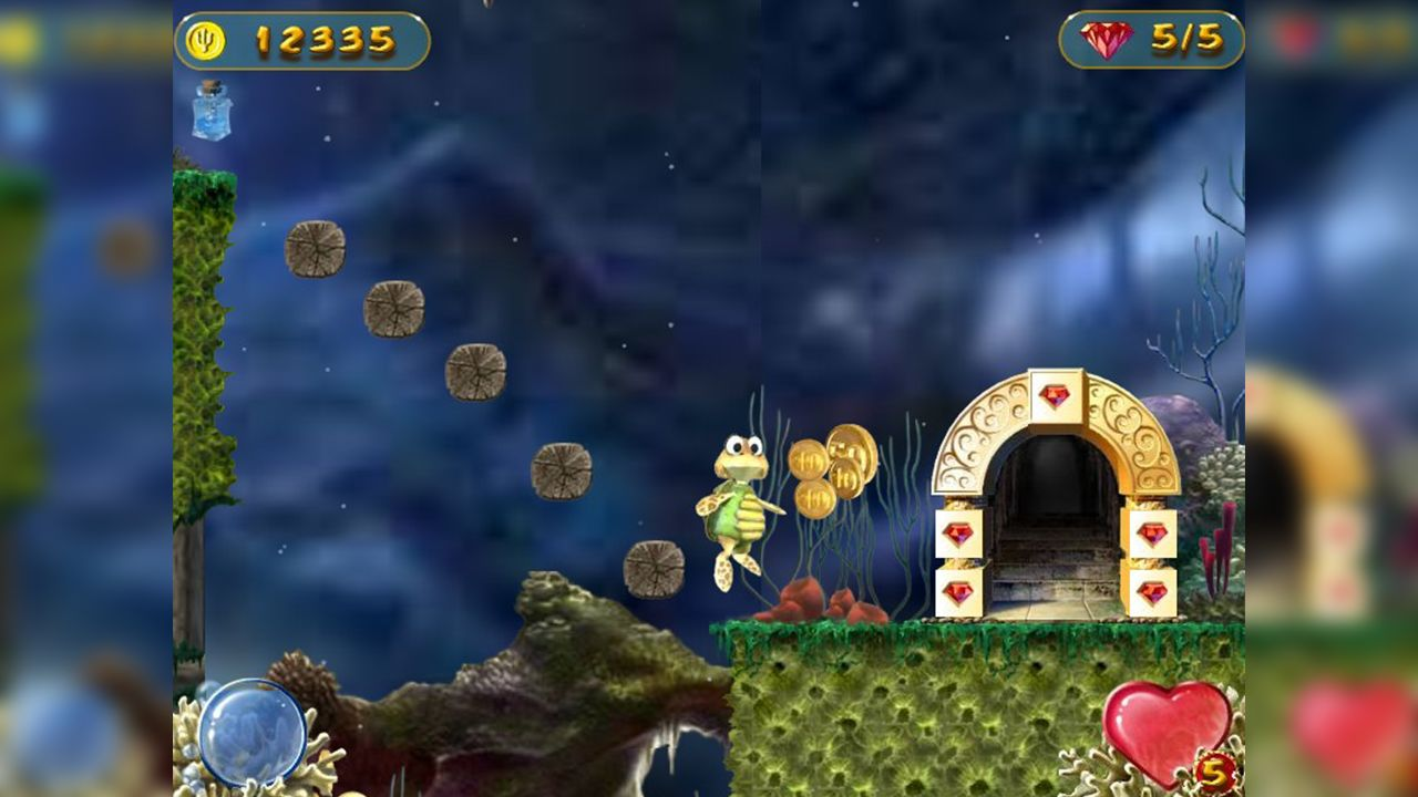 Screenshot from Turtle Odyssey (2/4)