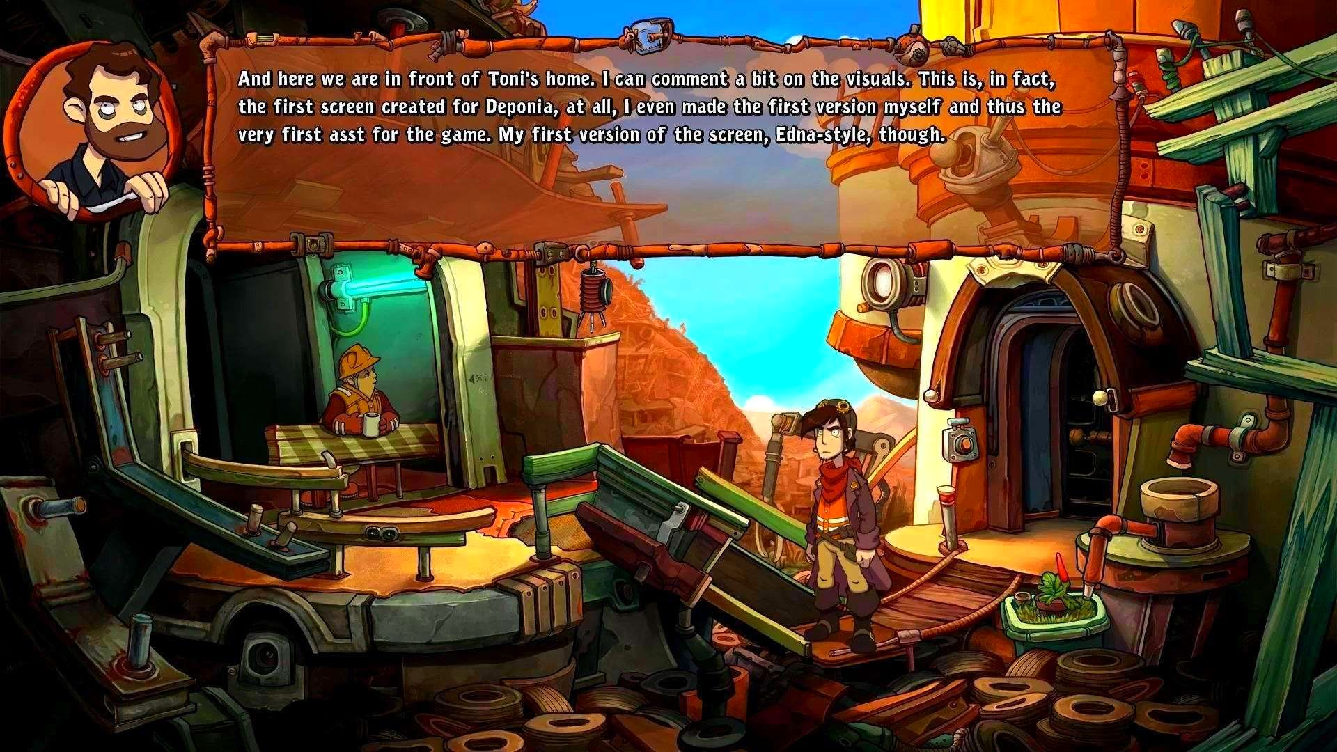 Screenshot from Deponia: The Complete Journey (6/9)