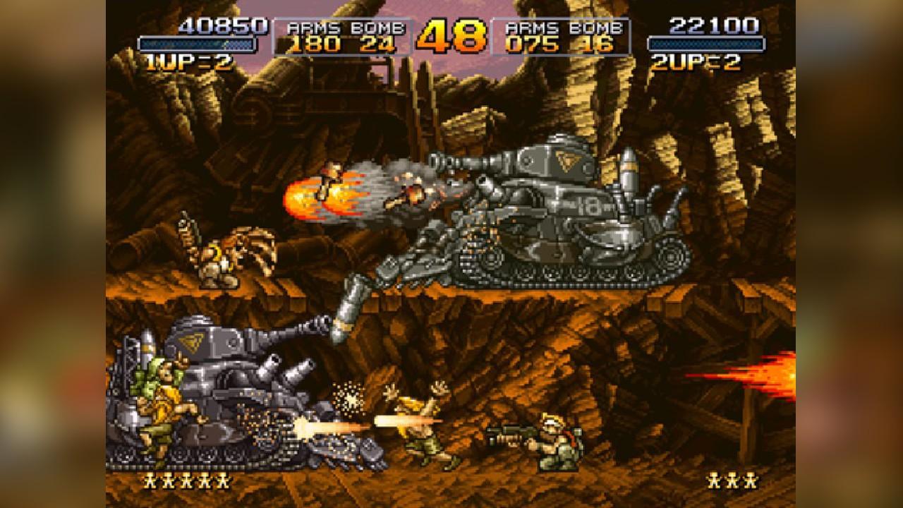 Screenshot from Metal Slug (8/9)
