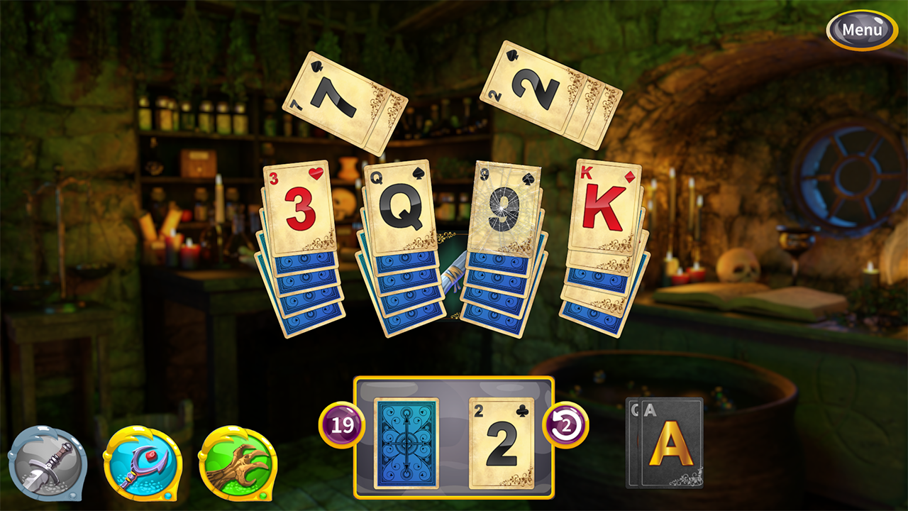 Screenshot from Princess Solitaire (3/5)