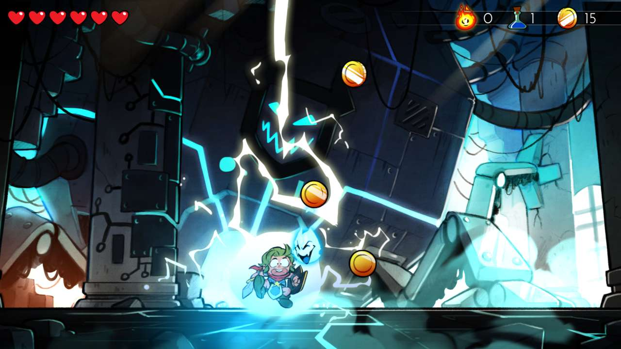 Screenshot from Wonder Boy: The Dragon's Trap (9/10)