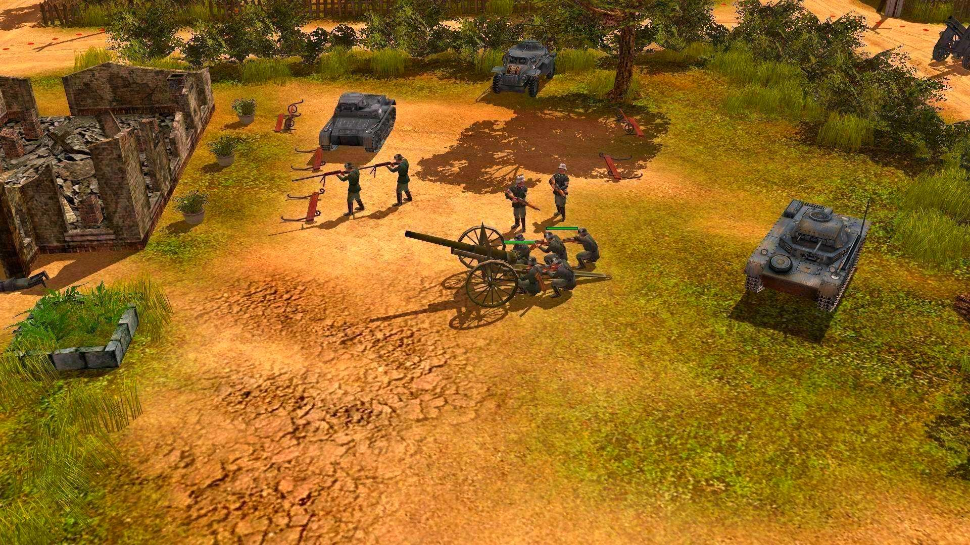Screenshot from Codename: Panzers, Phase One (8/9)