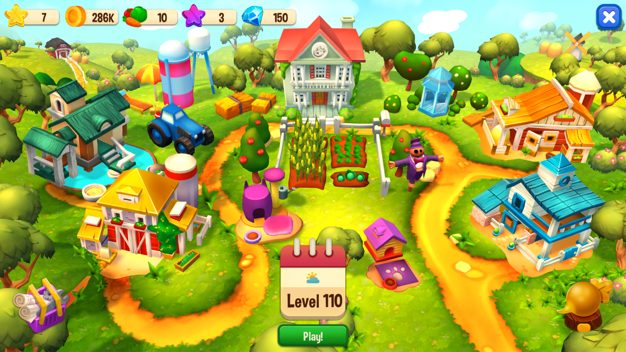 Screenshot from Farm Frenzy: Refreshed Collector's Edition (2/5)
