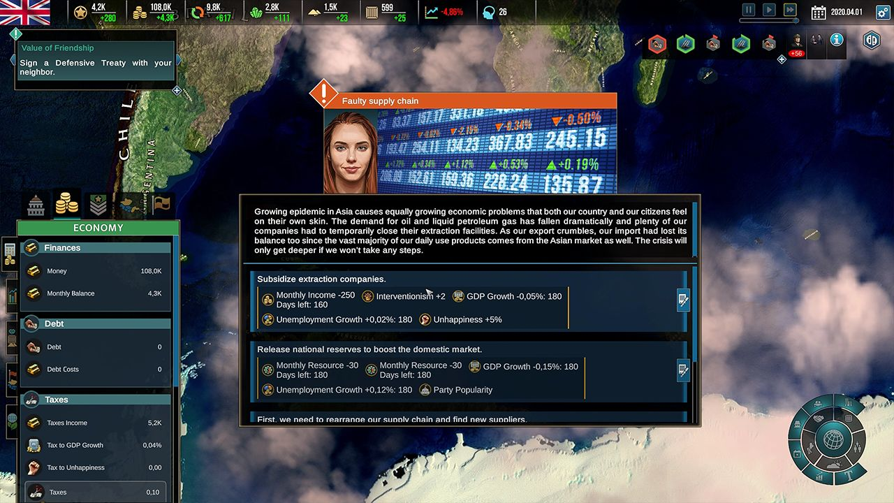 Screenshot from Realpolitiks II (6/9)