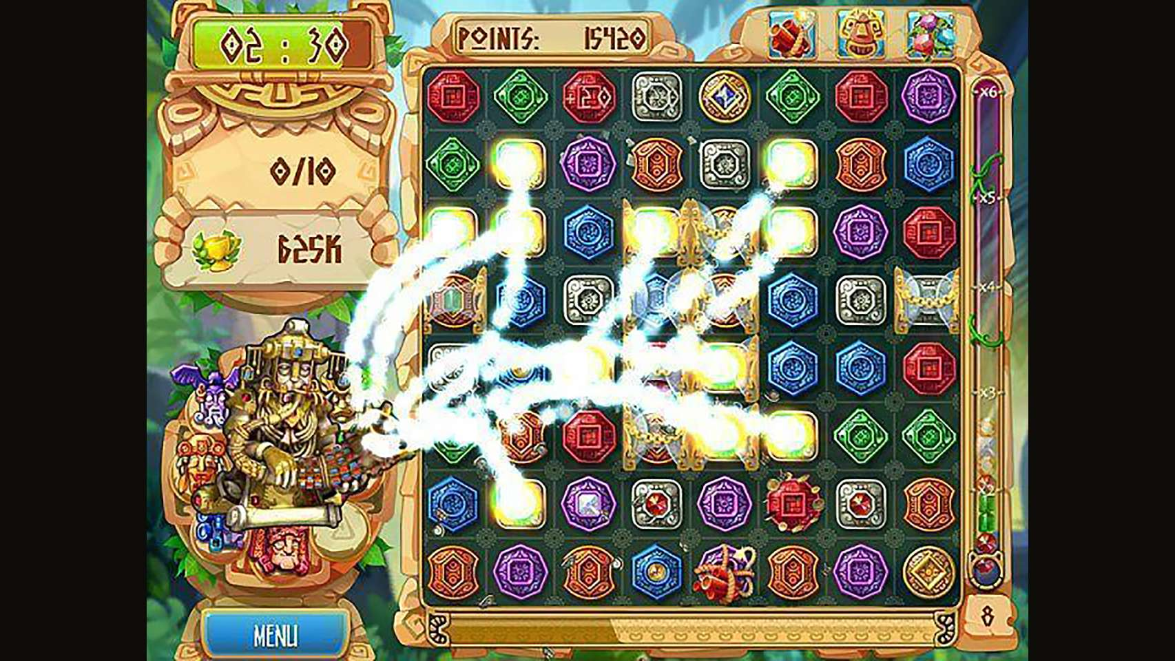 Screenshot from The Treasures of Montezuma 5 (6/7)