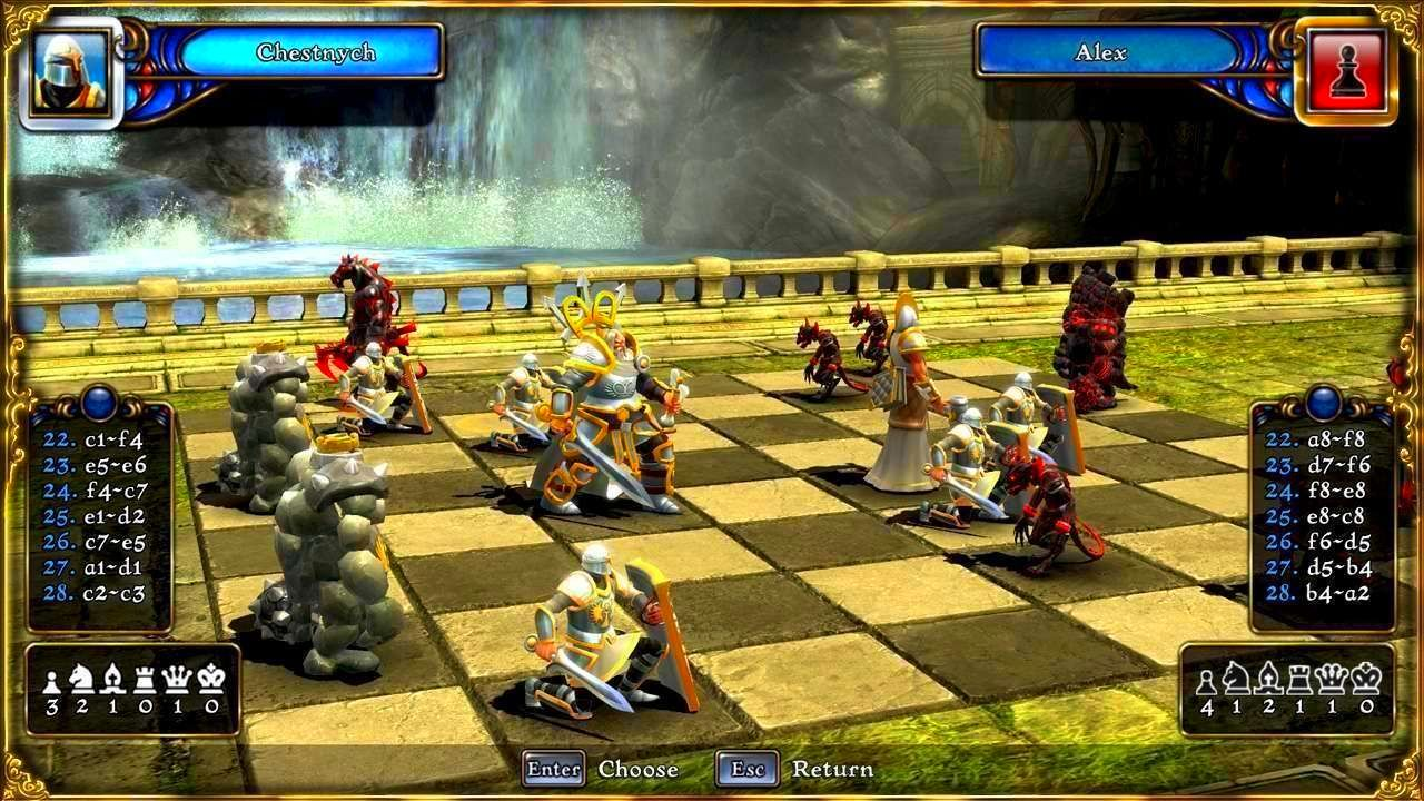 Screenshot from Battle vs. Chess (1/3)