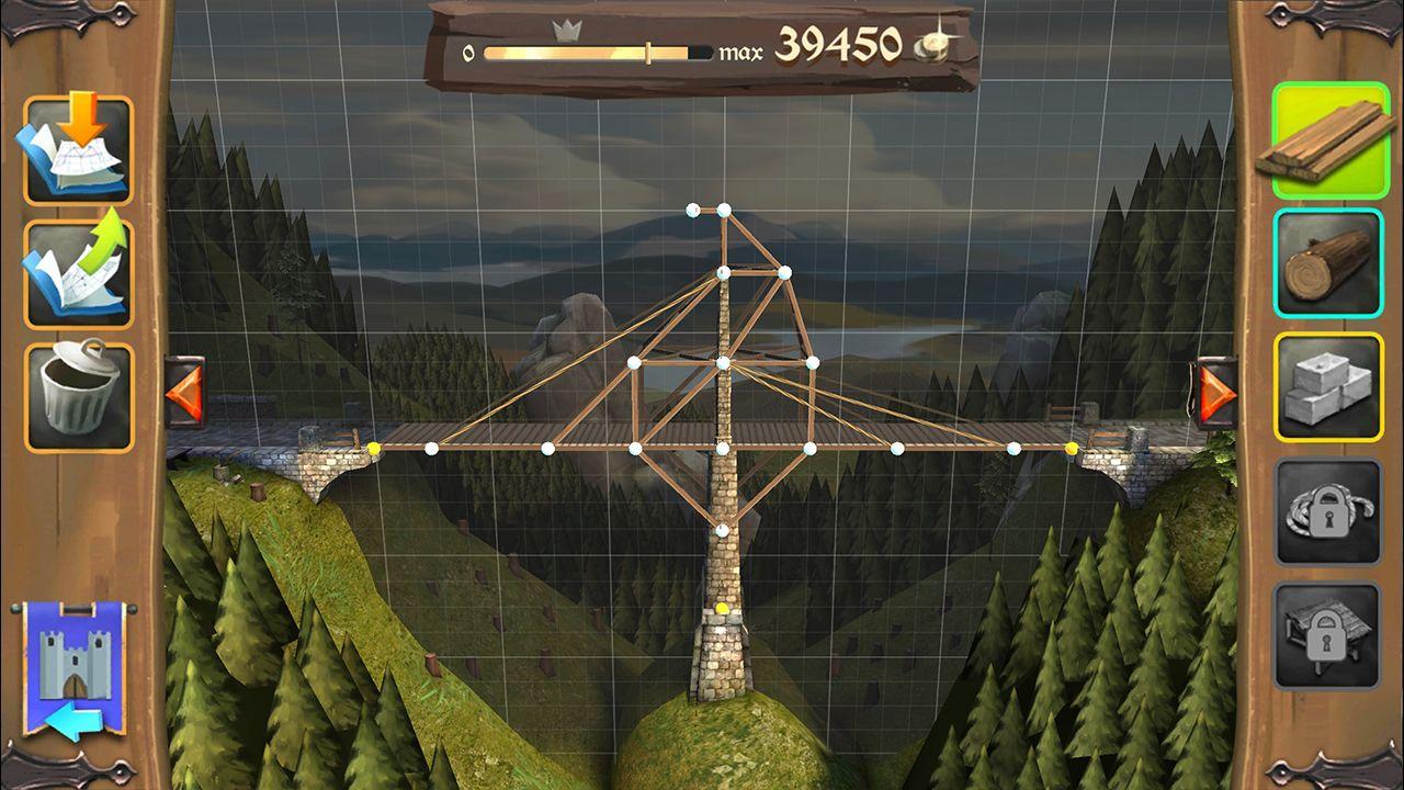 Screenshot from Bridge Constructor Medieval (1/5)