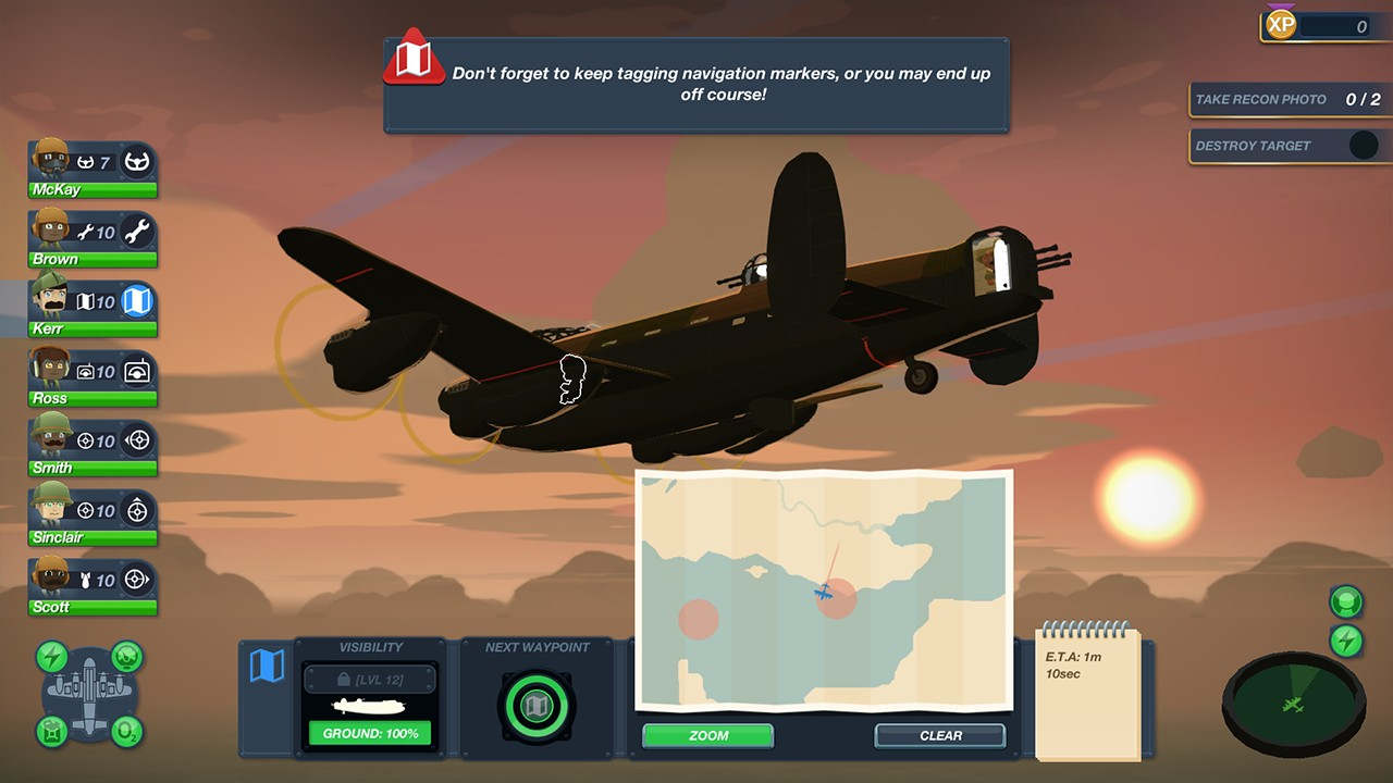 Screenshot from Bomber Crew (2/4)