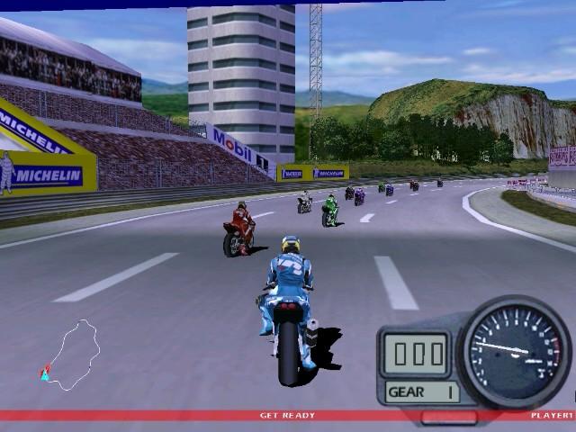 Screenshot from Moto Racer 2 (5/6)