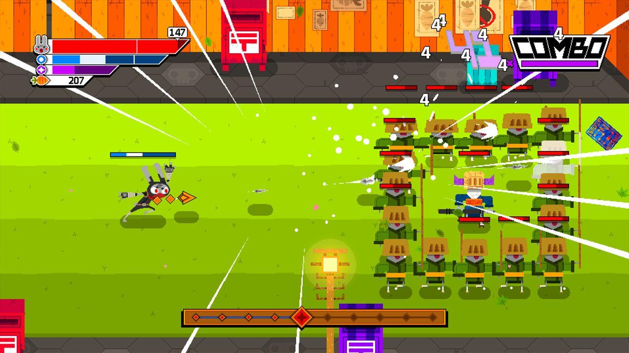 Screenshot from Ninjin: Clash of Carrots (7/9)