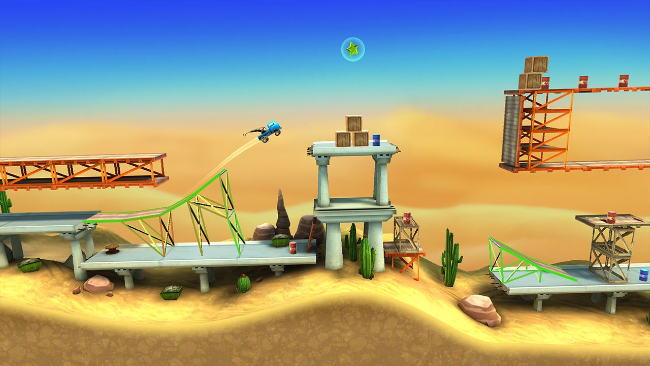 Screenshot from Bridge Constructor Stunts (4/5)