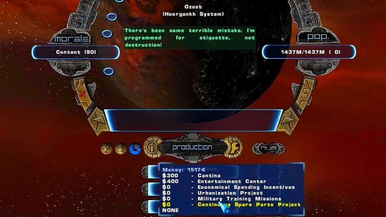 Screenshot from Haegemonia: The Solon Heritage (5/7)
