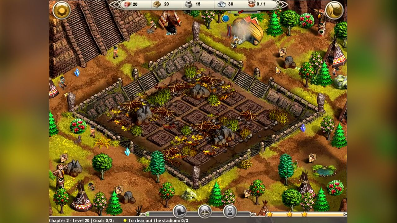 Screenshot from Viking Saga 2: New World (4/5)