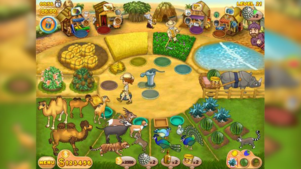 Screenshot from Farm Mania: Hot Vacation (1/6)