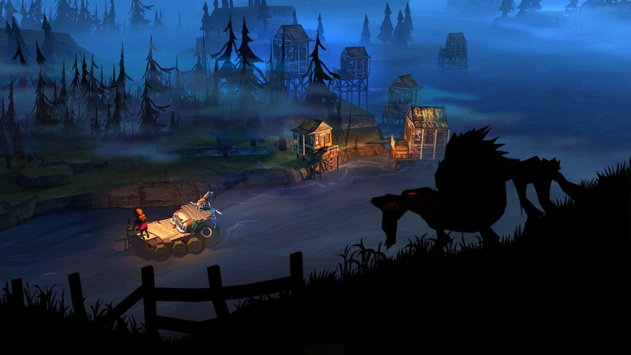 Screenshot from The Flame in the Flood (8/10)
