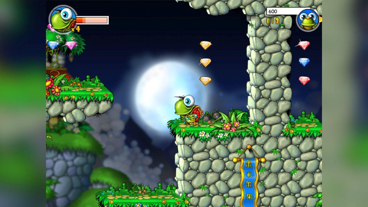 Screenshot from Turtix (3/4)