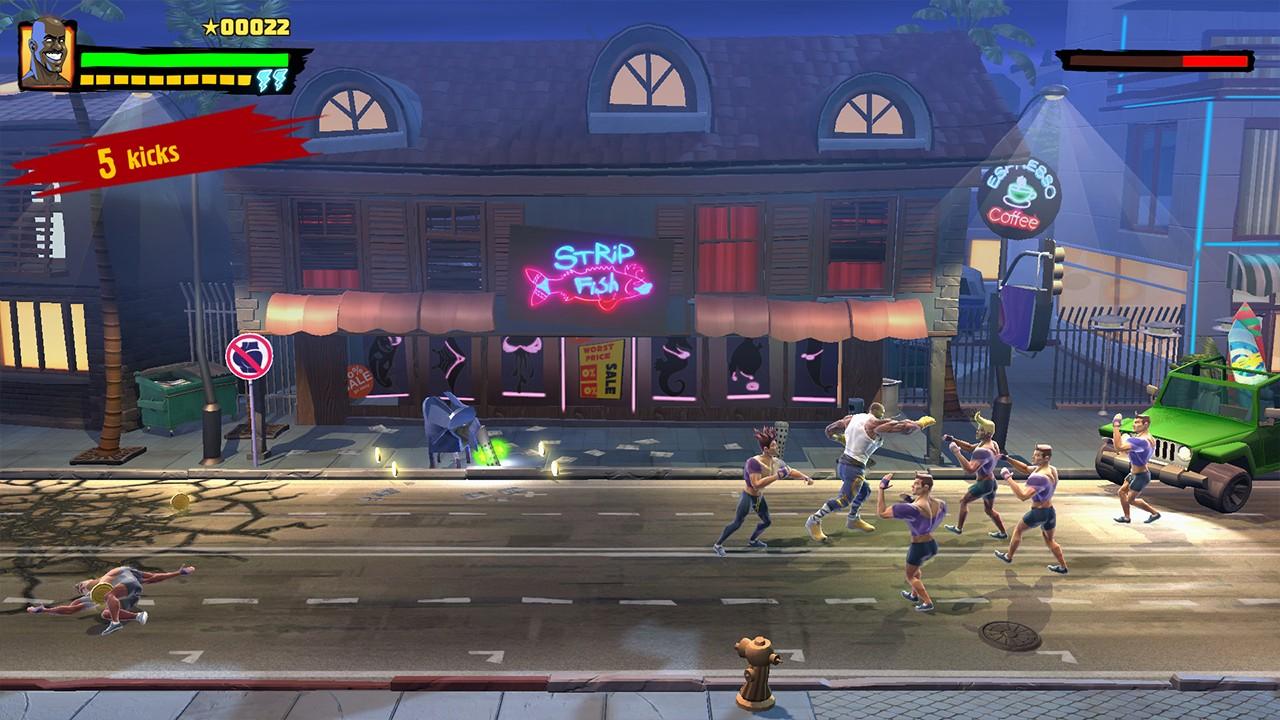 Screenshot from Shaq Fu: A Legend Reborn (6/7)
