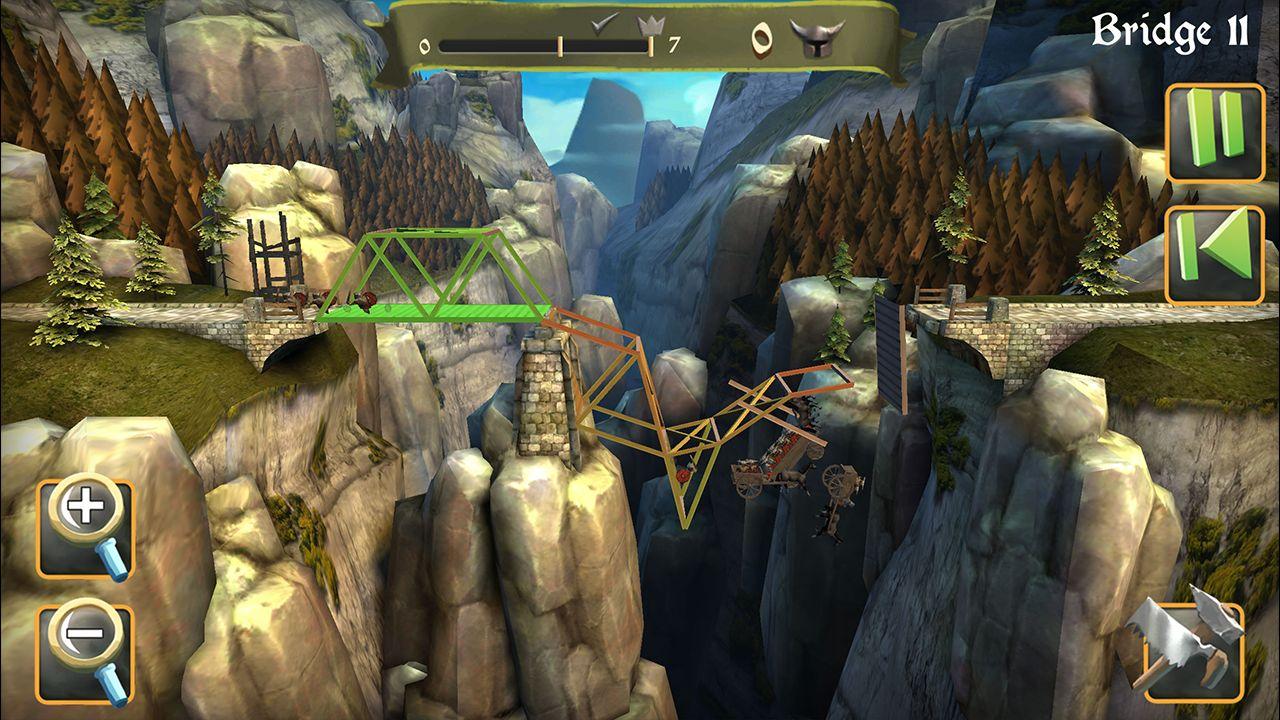 Screenshot from Bridge Constructor Medieval (2/5)