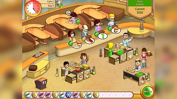 Screenshot from Amelie's Café (1/5)