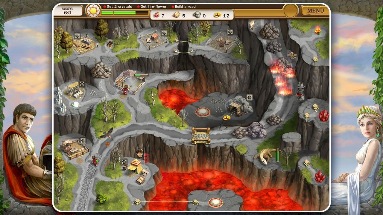 Screenshot from Roads of Rome 2 (2/6)