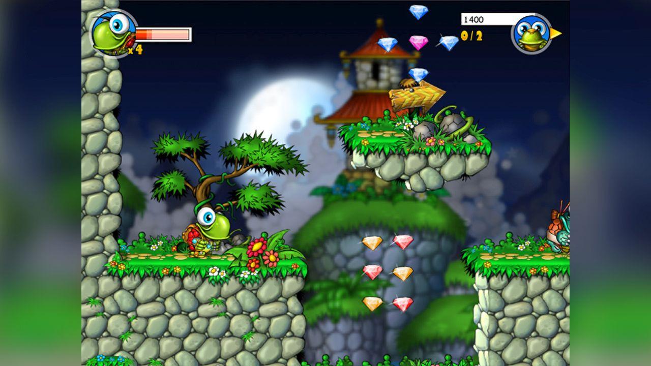 Screenshot from Turtix (2/4)