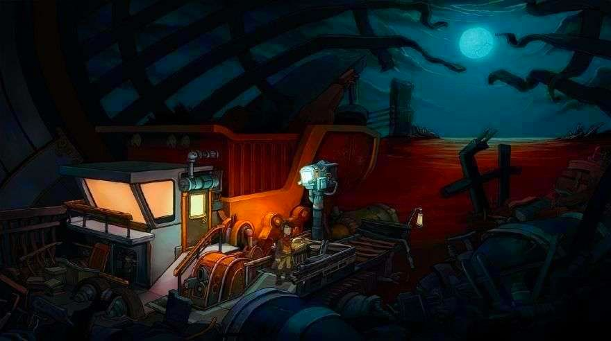 Screenshot from Deponia (4/5)