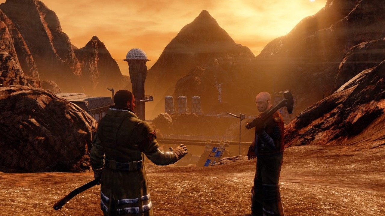 Screenshot from Red Faction Guerrilla Re-MARS-tered (3/6)